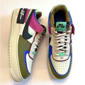 Nike Air Force 1 Shadow SE 'Cactus Flower' Size 10